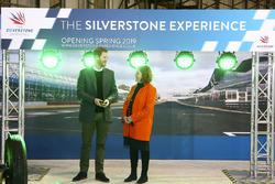 Visite du Prince Harry à Silverstone