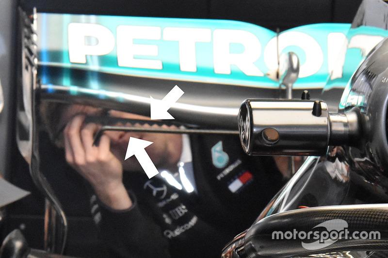 Generator vorteks Mercedes AMG F1 W09