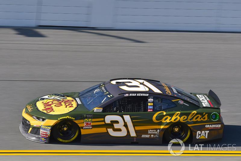 13. Ryan Newman, Richard Childress Racing, Chevrolet