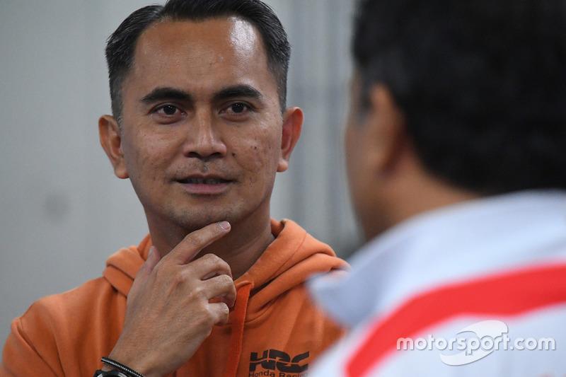 Anggono Iriawan, Senior Manager Safety Riding and Motorsport of PT Astra Honda Motor