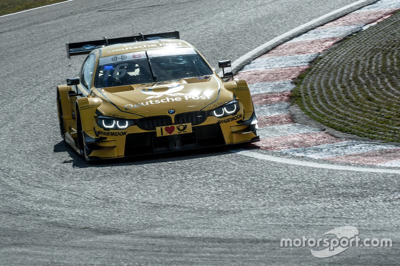 Ausgefallen: Timo Glock, BMW Team RMG, BMW M4 DTM