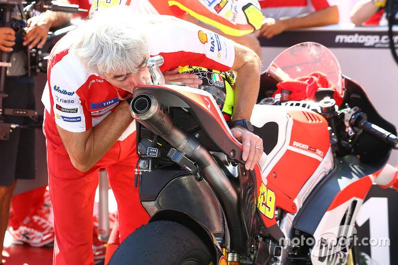 Gigi Dall'Igna, Ducati Team General, Sportchef