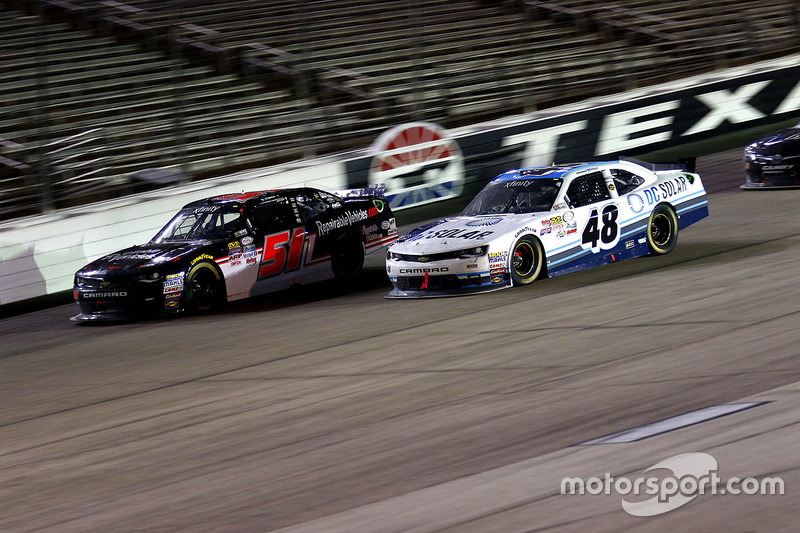 Jeremy Clements, Chevrolet and Brennan Poole, Chip Ganassi Racing Chevrolet