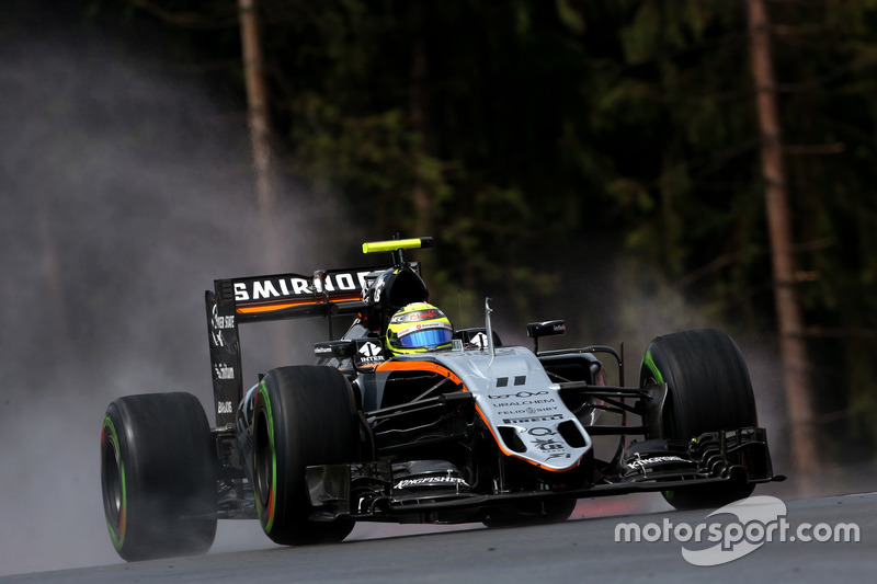 15: Sergio Perez, Sahara Force India