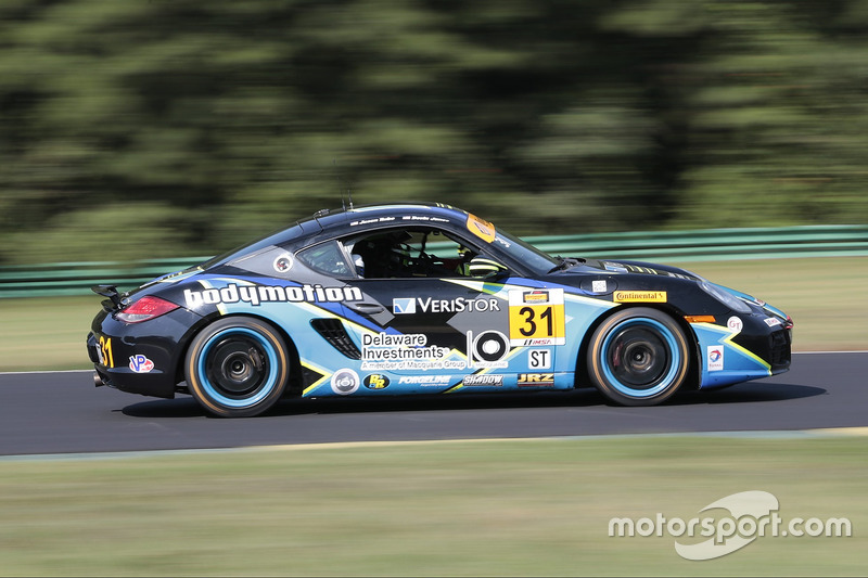 #31 Bodymotion Racing Porsche Cayman: Jason Rabe, Devin Jones