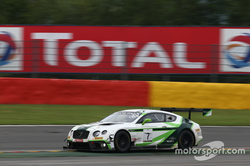 18. #7 Bentley Team M-Sport, Bentley Continental GT3