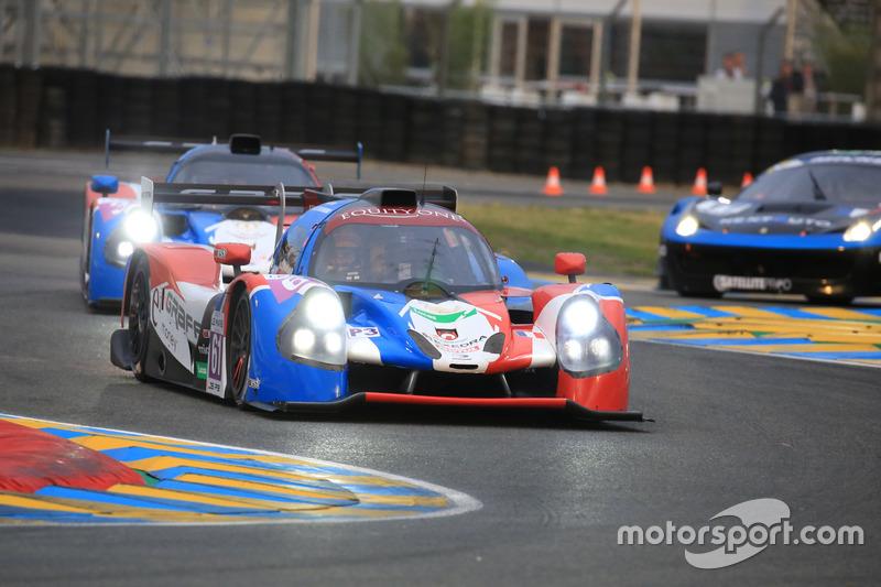 #61 Graff Ligier JPS3 - Nissan: James Winslow, Dean Koutsoumidis
