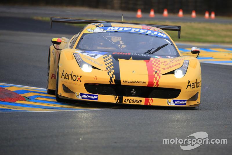 #14 AF Corse Ferrari 458 Italia GT3: Pierre-Marie De Leener, Adrien De Leener