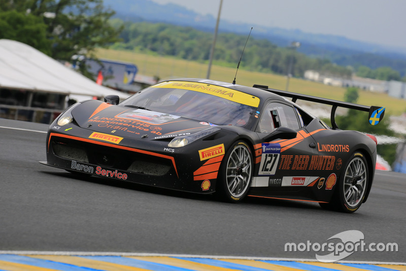 #127 Baron Service Ferrari 458 Challenge Evo: Tommy Lindroth