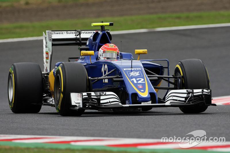 20. Felipe Nasr, Sauber C35