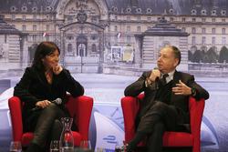 Anne Hidalgo, Bürgermeisterin von Paris; Jean Todt, FIA-Präsident