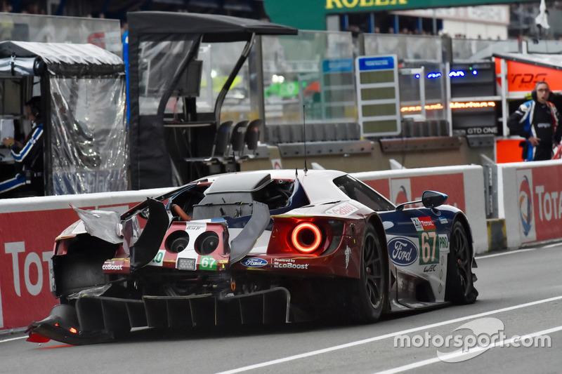 #67 Ford Chip Ganassi Racing Ford GT: Энди Приоль, Тони Канаан, Харри Тинкнелл