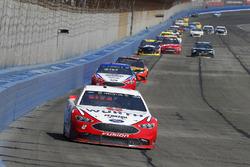 Brad Keselowski, Team Penske, Ford Fusion Wurth and Joey Logano, Team Penske, Ford Fusion AAA Southern California