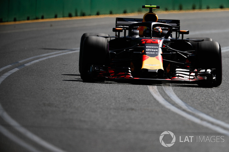 Max Verstappen, Red Bull Racing RB14 Tag Heuer