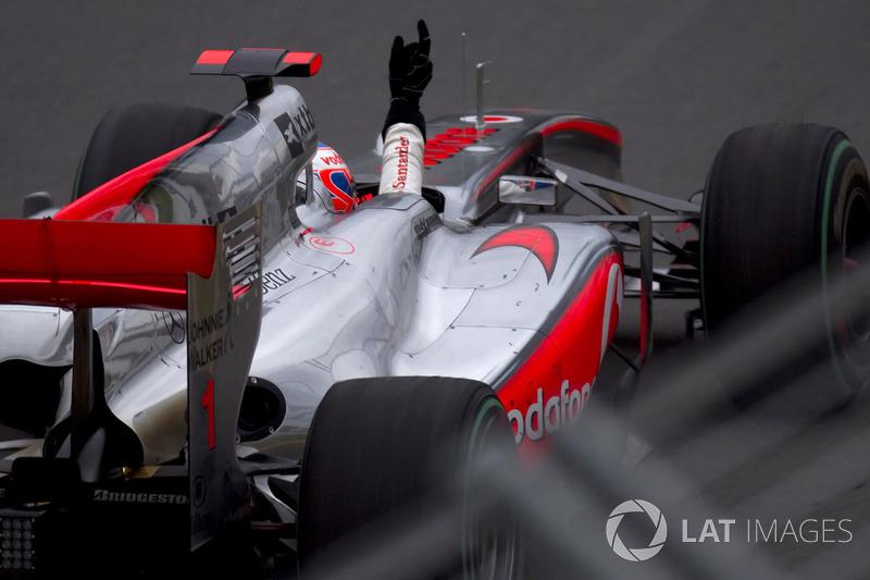 Переможець Дженсон Баттон, McLaren-Mercedes