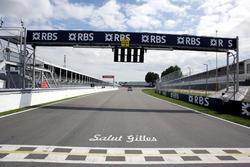 Homenaje a Gilles Villeneuve, en el circuito