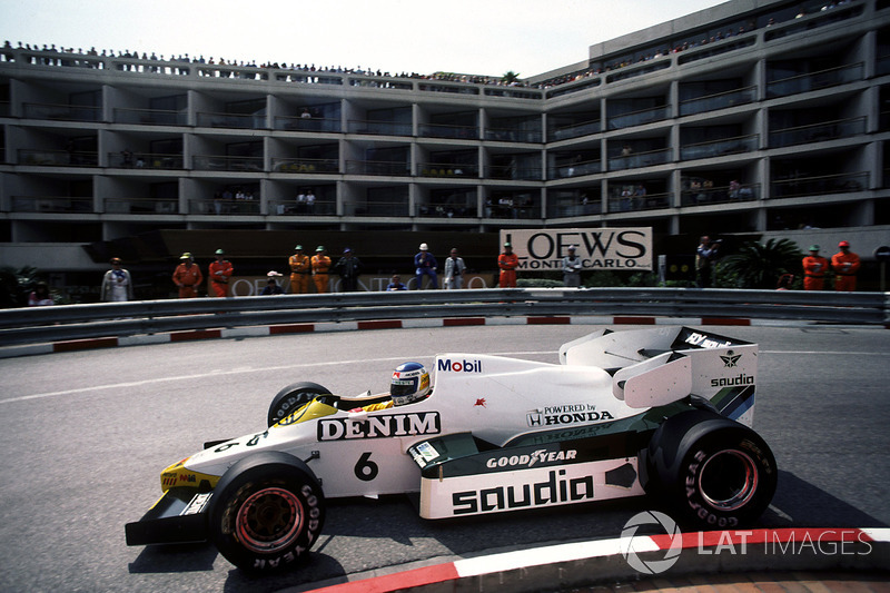 1984 : Williams-Honda FW09
