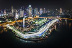 Vista de Singapur, Flyer y edificio de Pits