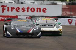 #26 Callaway Competition USA Chevrolet Corvette C7 GT3-R: Daniel Keilwitz, #24 Alegra Motorsports Porsche 911 GT3 R: Michael Christensen