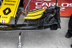 Renault Sport F1 Team RS 18 front wing detail