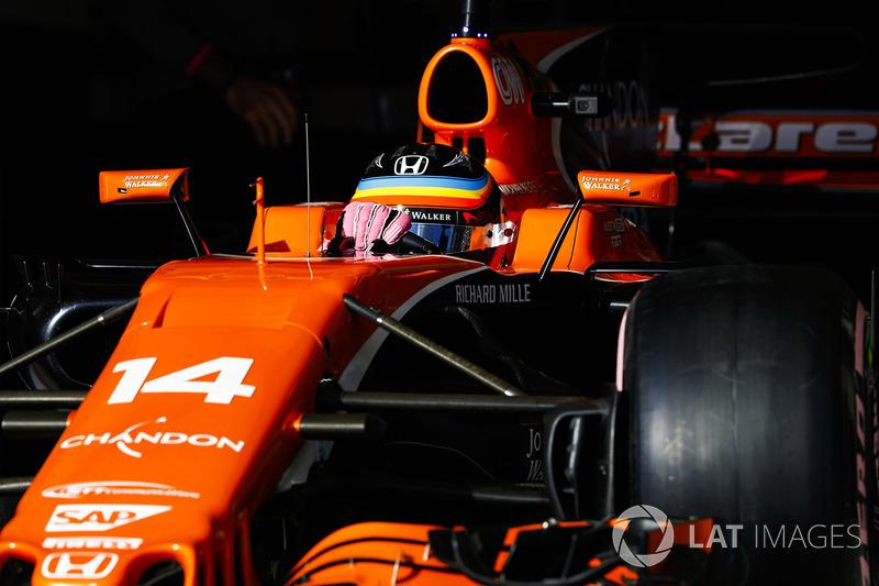 8: Fernando Alonso, McLaren MCL32