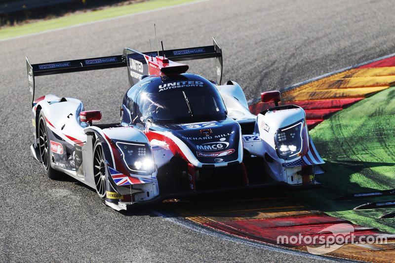 Tests United Autosports en Aragon