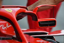 Ferrari SF71H mirror on halo
