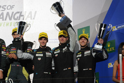 GT AM Podium: third place Christian Ried, Matteo Cairoli, Marvin Dienst, Dempsey-Proton Racing