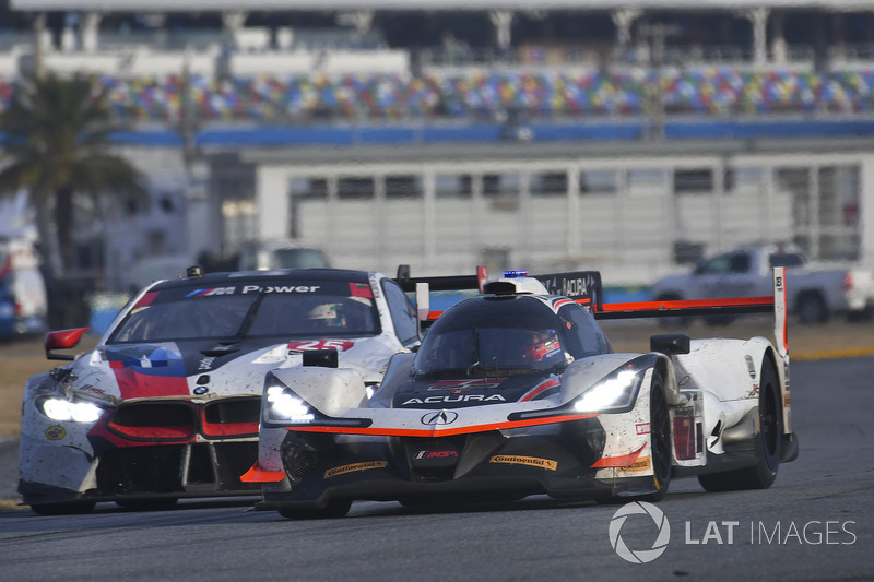 #7 Acura Team Penske Acura DPi, P: Helio Castroneves, Ricky Taylor, Graham Rahal, #25 BMW Team RLL BMW M8, GTLM: Bill Auberlen, Alexander Sims, Philipp Eng, Connor de Phillippi