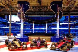 Schmidt Peterson Motorsports livery unveil inside Lucas Oil Stadium