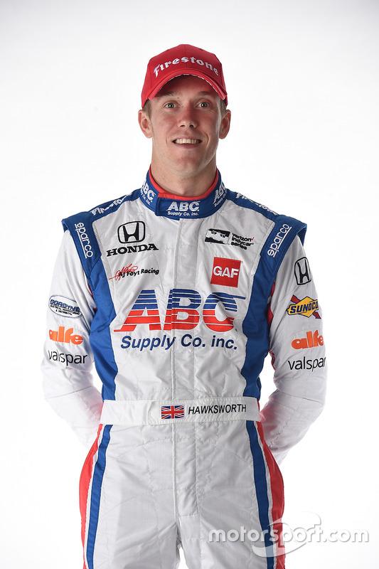 Jack Hawksworth, A.J. Foyt Enterprises Honda