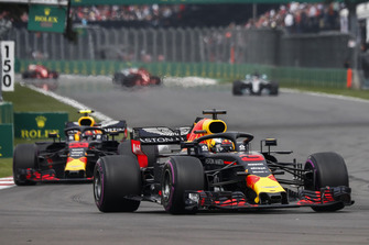 Даніель Ріккардо, Red Bull Racing RB14, Макс Ферстаппен, Red Bull Racing RB14