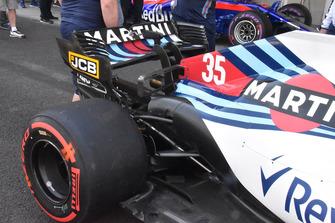 Aileron arrière de la Williams FW41