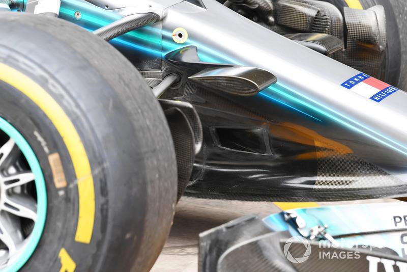 Mercedes-AMG F1 W09 EQ Power+, orrkúp részlet