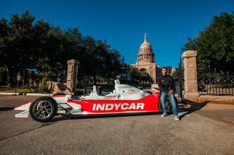 Rookie Driver Coloton Herta, IndyCar at Capitol