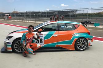 José Manuel Sapag, Baporo Motorsport, Cupra TCR