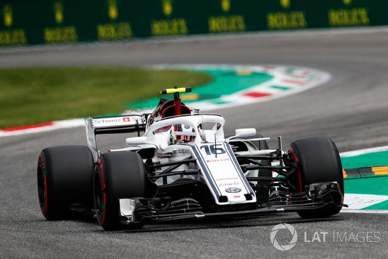 15. Charles Leclerc, Sauber C37