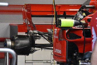 Ferrari technical detail