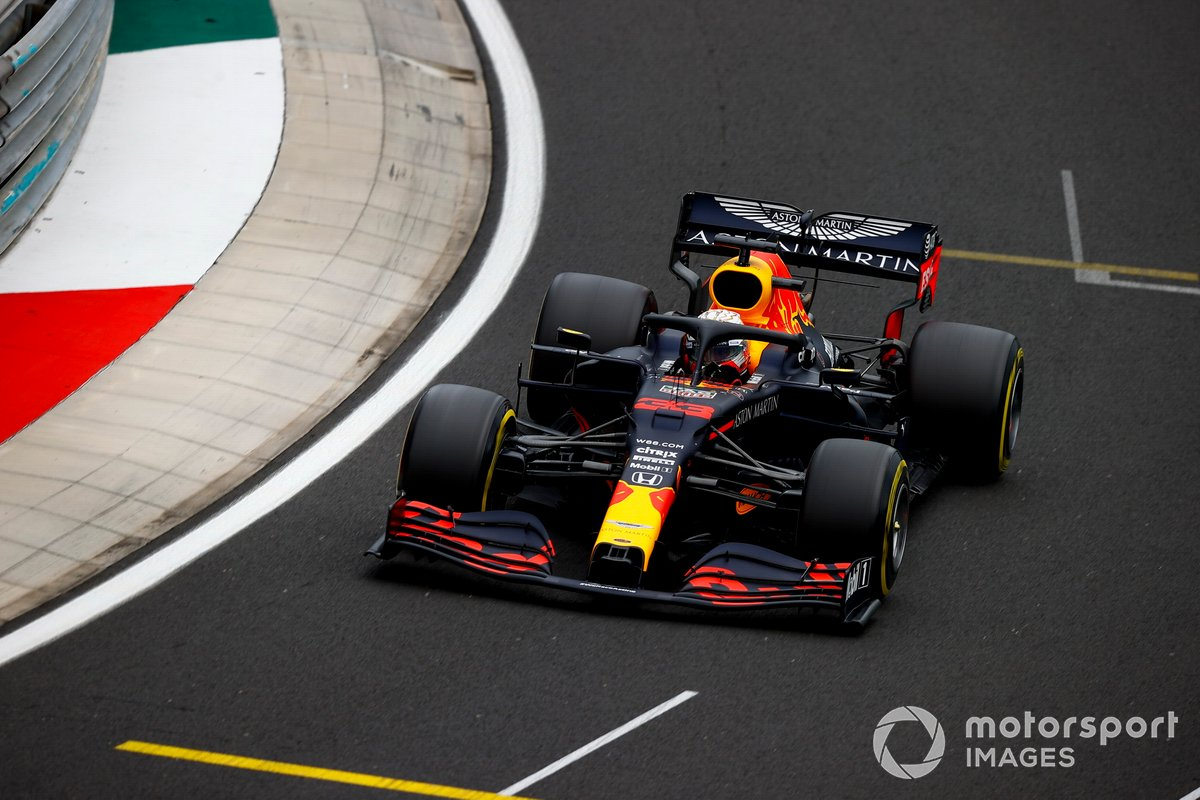 P7 Max Verstappen, Red Bull Racing RB16