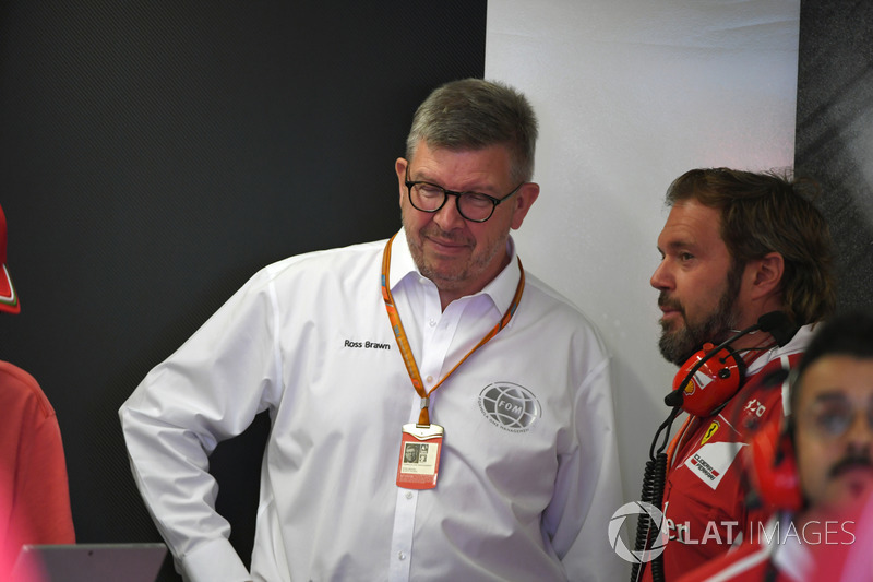 Ross Brawn, Gino Rosato, Ferrari
