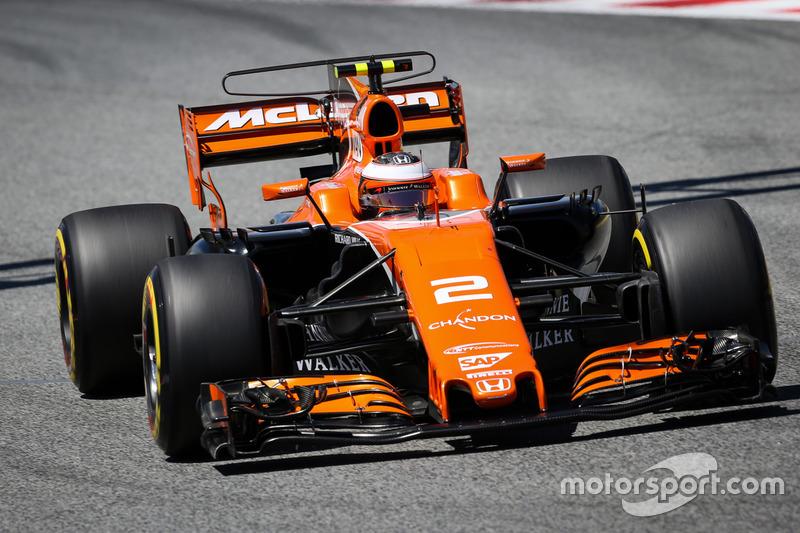 20 місце — Стоффель Вандорн, McLaren. Умовний бал — 3,036