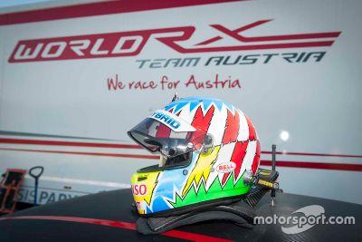 Test d'Alex Wurz avec le World RX Team Austria