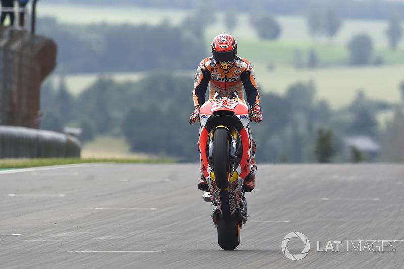 1. Переможець Гран Прі Німеччини 2017 року: Марк Маркес, Repsol Honda Team