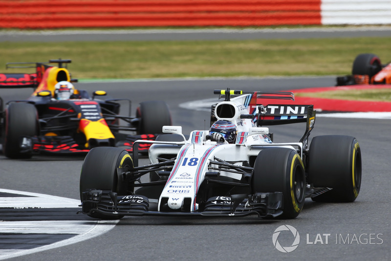 Ленс Стролл, Williams FW40, Даніель Ріккардо, Red Bull Racing RB13