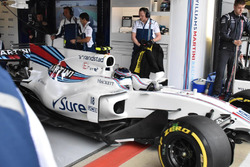 Williams FW40, new barge boards