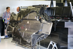 Mercedes-Benz F1 W08 piso