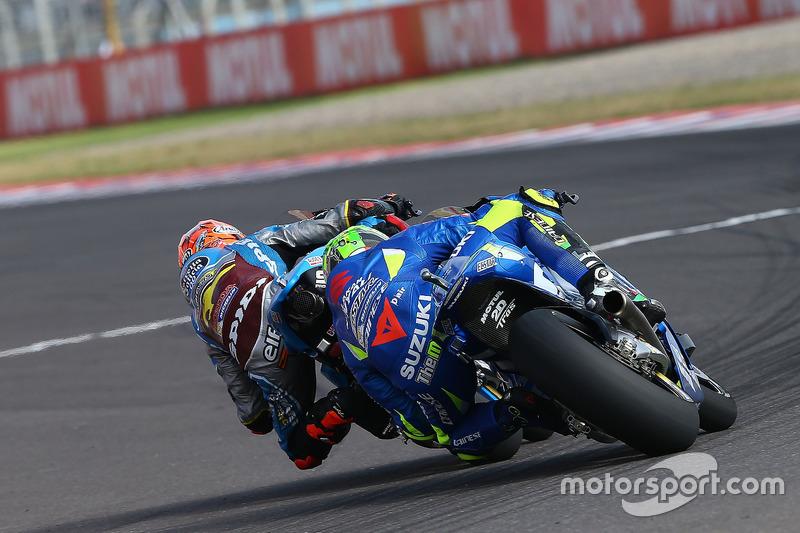 Tito Rabat, Estrella Galicia 0,0 Marc VDS, Andrea Iannone, Team Suzuki MotoGP