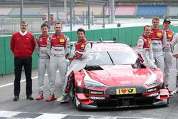 Gruppenfoto: Audi Sport