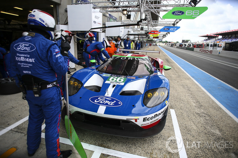 #66 Ford Chip Ganassi Racing, Ford GT: Stefan Mucke, Olivier Pla, Billy Johnson