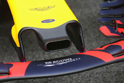 Red Bull Racing RB13 duct on the nosecone detail